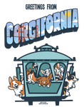 Greetings from Corgifornia- NorCal Corgi Con 2k15 by Otterfang