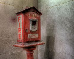 Used fire alarm box by spudart