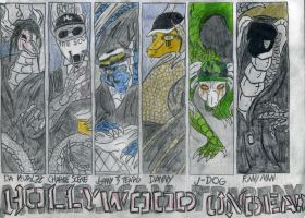 Dragonized Hollywood Undead 2 by Wyldfire7