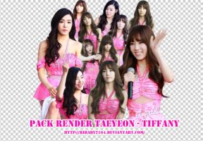 Pack render Taeyeon - Tiffany by Ribaby2104
