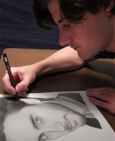 Drawing Jared Leto by RayPelesko