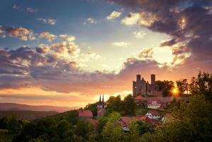 Hanstein sunset 02 by artmobe