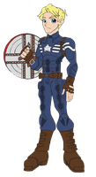Spiders and Magic - Captain America by edCOM02