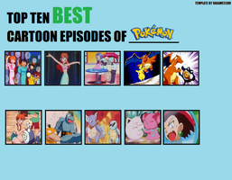 My Top 10 Favorite Episodes of Pokemon Anime by BeeWinter55