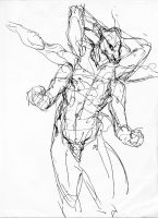 Sketch, no models by indigartistic