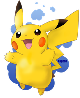 Pikachu by Lageon