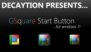 GSquare Start Button by Decaytion