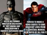 Message to Man of Steel haters: shut up hypocrites by ImdaBatman