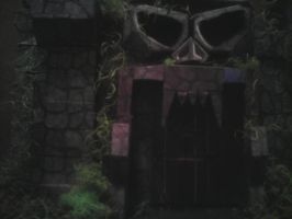 Castle Greyskull -- by Allhallowseve31