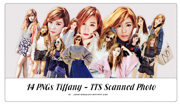 [Render Pack]Tiffany TTS - Scanned Photo - 14 PNGs by jemmy2000