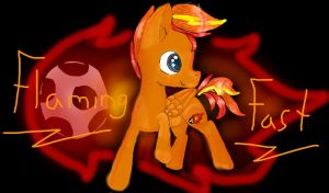 O.C Flaming Fast by jayart3274