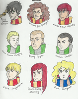 Harry Potter Album I. by yomaka