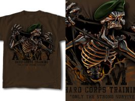 T-Shirt Design Military 02 by RobDuenas