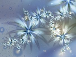 ice flowers - ultra fractal by SvitakovaEva