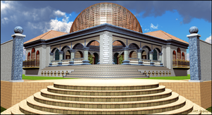 Pavilion, Front View by jbjdesigns