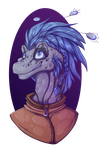 Sparky headshot by Green-Nightingale