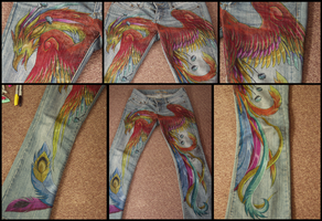 Phoenix Pants by kissy-face