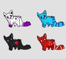 Pup/ Kit Adopts: CLOSED by Inner-Realm-Adopts
