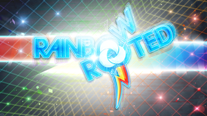 Rainbow and Rooted {Luminous} by KibbieTheGreat