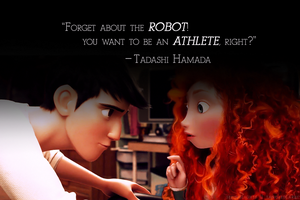 ''Forget about the robot!'' [merida/tadashi] by seeinglights