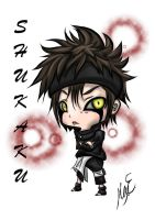 REQUEST Color Chibi Shukaku by XxCrimson-MoonxX