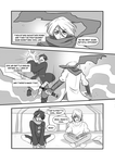 page 4 -- Mumbles and Steve in a typical manga by Lily-Draws