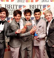 One Direction won a Brit 2 by HostclubEmy