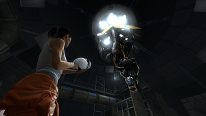 Portal 2: Chell 'n Wheatley by FireFoxProject