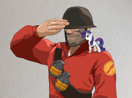 MLP:FIM-TF2 - Not just another Jane Doe by ah-darnit