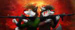 Zootopian Zombies: The Two Wolves of Undying Love by smoshgoshjosh