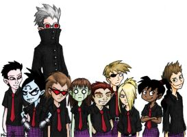 Class of Igma - colored by juanito316ss