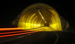 Light at the end of the tunnel by Gautama-Siddharta