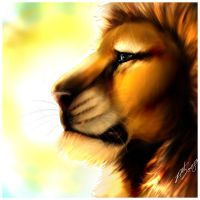 The Great Lion of Narnia by NatAsplund