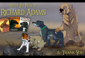 Thank You Richard Adams by Some-Art