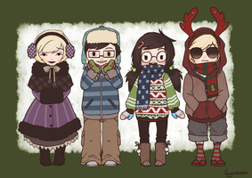 Babies It's Cold Outside - Final by Reynanana