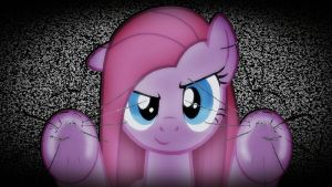 Pinkamena TV-Screen Wallpaper (1280x720) v2.0 by Grumbeerkopp