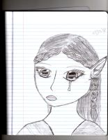 crying elf by autumn2010