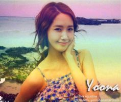 Yoona In The Beach by Little-Yoon