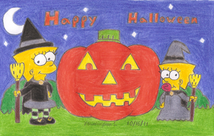Happy Halloween by MarioSimpson1