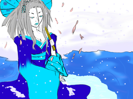 Yuki in the spring by death6loves6me6