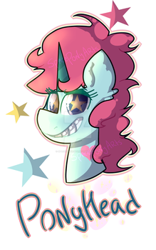 PonyHead (Star vs the forces of evil) by SpacePonyArts