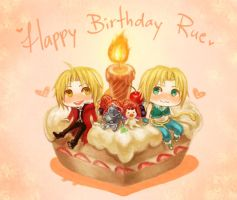 Happy Birthday Rue by f-wd