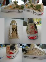 shoe design : ASIA by havockid
