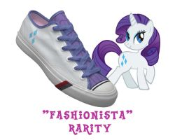 Rarity shoes by DoctorRedBird
