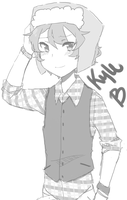 Kyle as a hipster idek by Marmar96