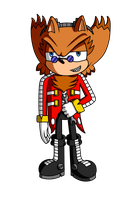 AT: Ivo the Hedgehog by XalenTheWolf