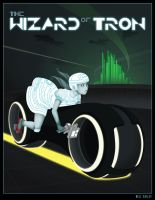The Wizard of Tron by nella-nell