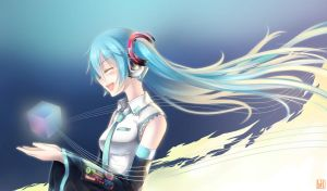 Hatsune Miku - VOICE by Coffee-Straw-LuZi