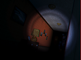 Nightmare Bonnie Hide 3d by Cosmicmoonshine