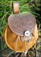 Celtic Knotwork Sporran by Half-Goat